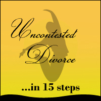 Uncontested Divorce in 15 steps